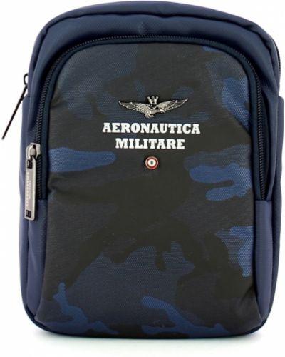 Niebieska torebka Aeronautica Militare