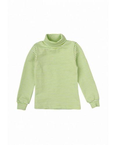 Зеленый свитер фламинго текстиль
