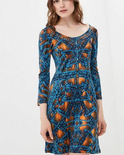 Платье весеннее синее Custo Barcelona
