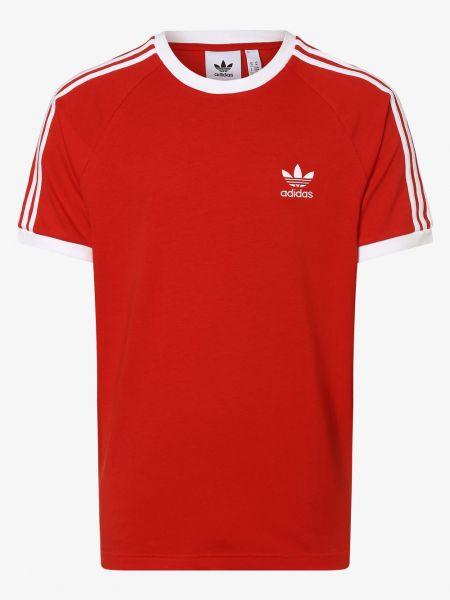 Klasyczny koszula zabytkowe z paskami Adidas Originals