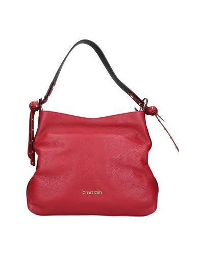 Czerwona torebka Braccialini