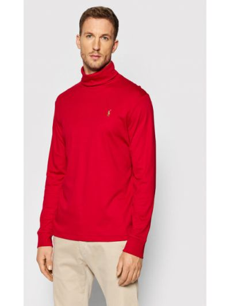 Golf - czerwony Polo Ralph Lauren