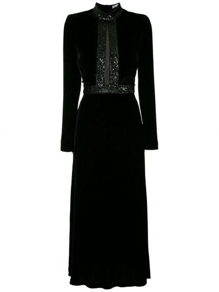 Платье миди прямое с открытыми плечами НК