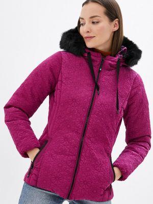 Утепленная куртка - розовая Desigual