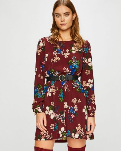 Платье мини с поясом на резинке Only
