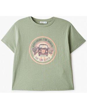 Зеленая футболка Sela