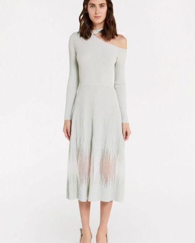 Белое прямое платье Patrizia Pepe