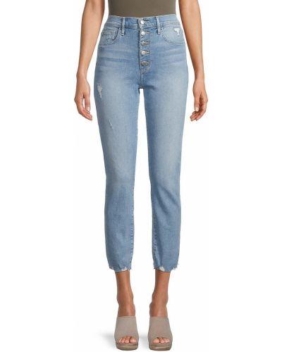 Синие прямые джинсы с карманами Joe's Jeans