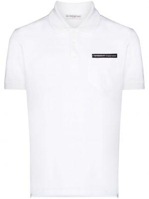 Bawełna bawełna z rękawami koszula Givenchy