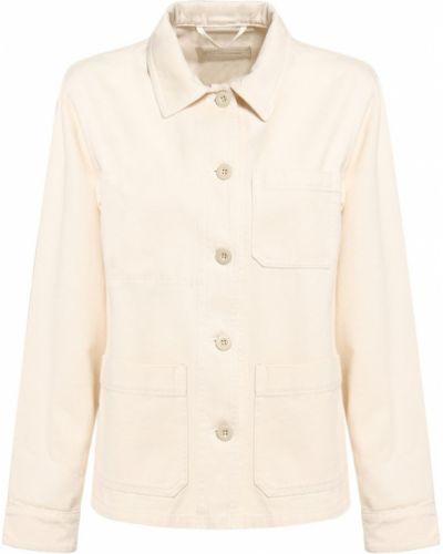 Хлопковая ватная куртка с карманами Weekend Max Mara