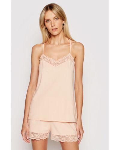 Piżama - różowa Emporio Armani Underwear