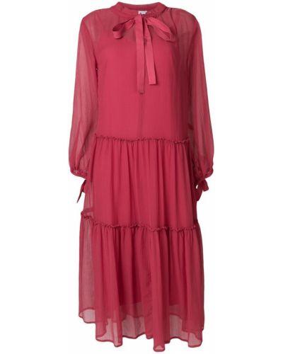 Платье миди с длинными рукавами с бантом See By Chloé