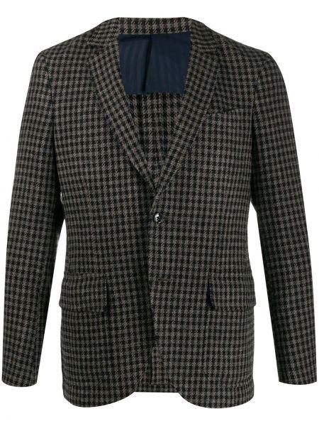 Brązowa kurtka wełniana Mp Massimo Piombo