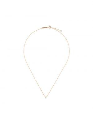 Złoty naszyjnik z diamentem elegancki Delfina Delettrez