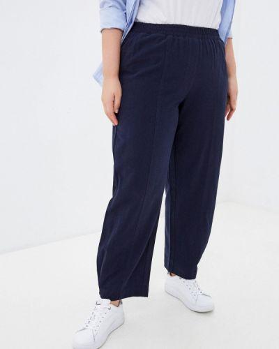 Расклешенные синие брюки Intikoma