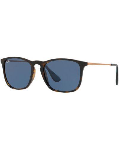 Солнцезащитные очки стеклянные металлические Ray-ban