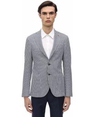 Biała kurtka bawełniana Sartoria Latorre