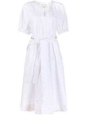 Платье с поясом с рукавами 3.1 Phillip Lim