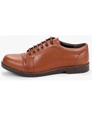 Кожаные ботинки осенние коричневые Alessio Nesca