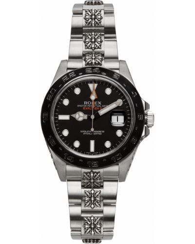 Zegarek do pływania srebrny - czarny Mad Paris