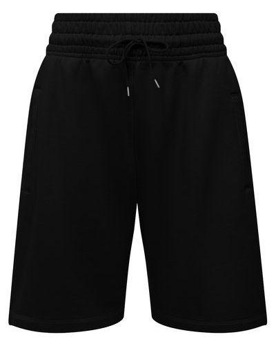 Хлопковые шорты - черные Agolde