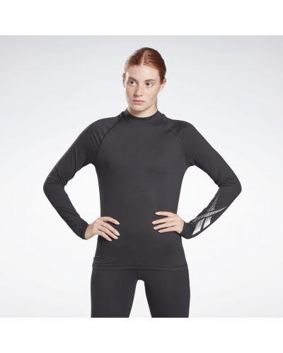 Спортивная лонгслив - черная Reebok