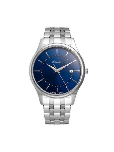 Zegarek srebrny granatowy Adriatica
