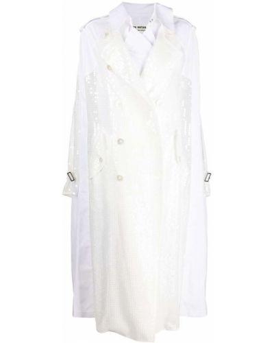 Klasyczna biała narzutka bawełniana Junya Watanabe