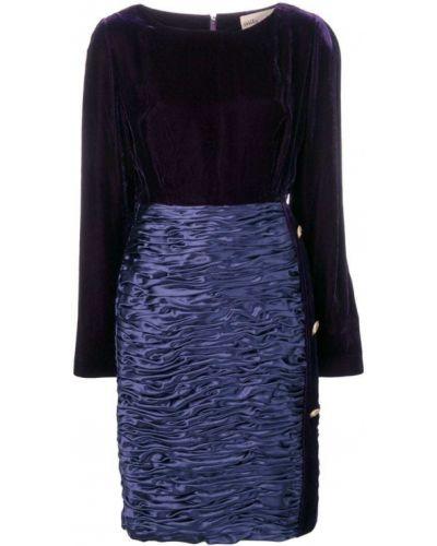 Платье винтажная с длинными рукавами Mila Schon Vintage