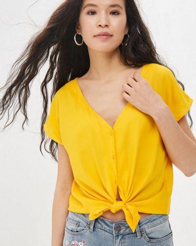 Блузка с коротким рукавом индийский желтый Compania Fantastica