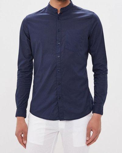 Синяя рубашка Piazza Italia