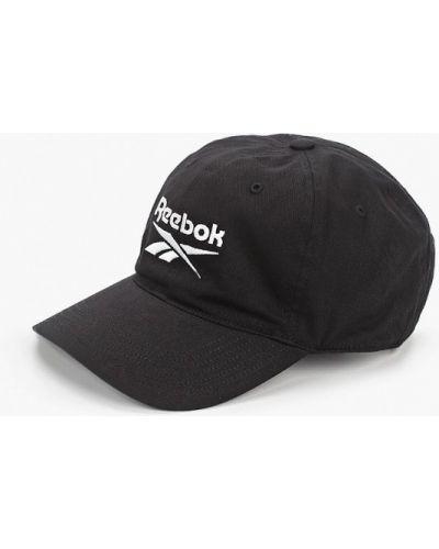 Черная бейсболка Reebok