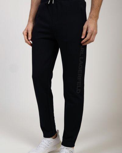 Хлопковые брюки Karl Lagerfeld