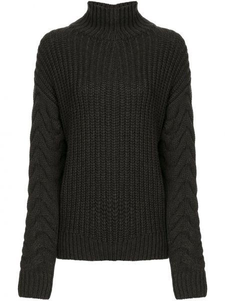 Черный свитер Sir.