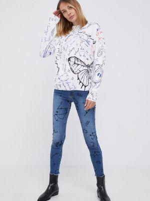 Хлопковые джинсы Desigual