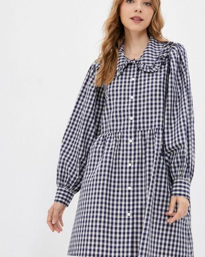Синее платье рубашка Levi's®