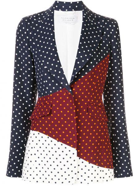 Черный приталенный пиджак с карманами Gabriela Hearst