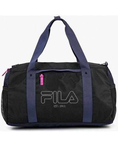 Спортивная сумка черная Fila