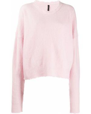 Розовый шерстяной джемпер Unravel Project