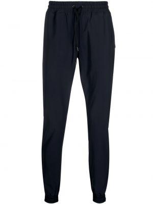 Niebieskie spodnie z printem Hydrogen