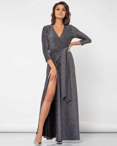 С рукавами платье с запахом с поясом Jetty