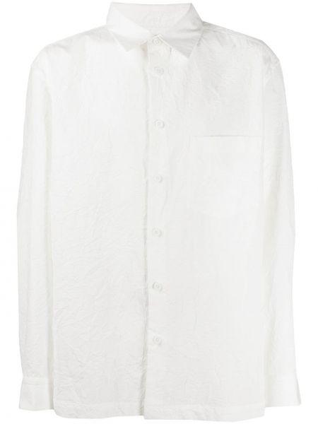 Koszula z długim rękawem klasyczna prosto Issey Miyake Men
