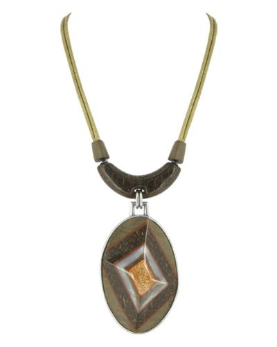 Ожерелье коричневый Nature Bijoux