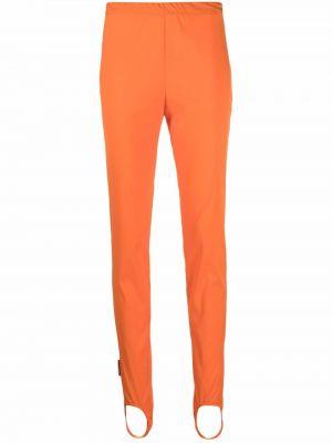 Леггинсы с завышенной талией - оранжевые Dsquared2
