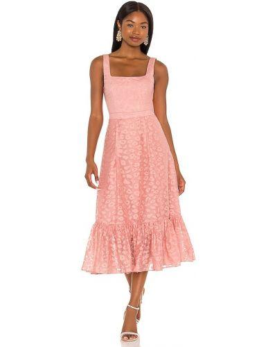Хлопковое платье миди Nbd