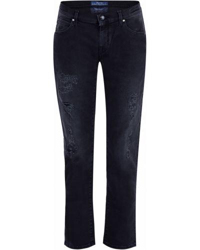Прямые джинсы укороченные с заклепками Jacob Cohen