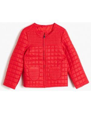 Куртка кожаная красная Koton
