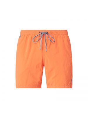 Pomarańczowe spodnie Zeybra