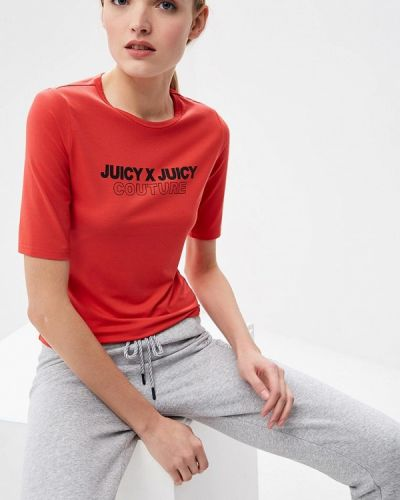 Футболка - красная Juicy By Juicy Couture