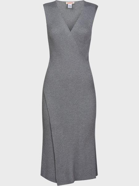 Платье из вискозы - серое Kontatto
